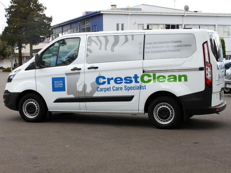 Carpet Cleaning Van Crestclean Tauranga 800 Crestclean
