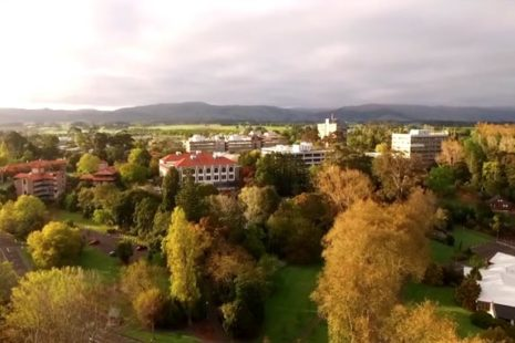 Massey University offers agricultural and science degrees
