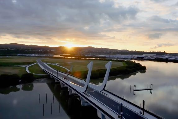 Whangarei is nestled beside the Hatea River