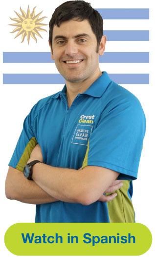 Business man representing Spanish Language Video