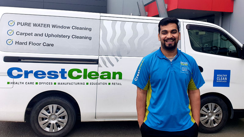 Pure water windows CrestClean Palmerston North