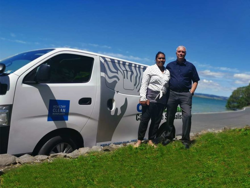 CrestClean's new Whangarei regional managers