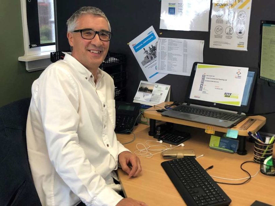 Health, Safety and Wellbeing leader Ian Noon